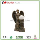 Standbeeld van de Tuin van de Engel van Polyreisn het Decoratieve Zonne Aangedreven Vreedzame