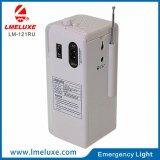 USBおよびFMの無線の携帯用再充電可能な緊急時LEDの照明