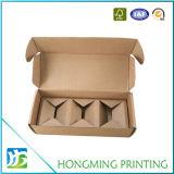 Cadre de empaquetage de papier de bougie de carton de Brown Papier d'emballage