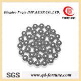 Шарик углерода шарика хромовой стали шарика нержавеющей стали стальной (1.375-25.4MM)