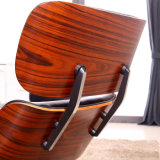 오토만 가죽 사무실 의자를 가진 현대 Eames 라운지용 의자