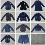 9oz zwarte Rechte Jeans (HYQ32S)
