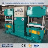 Máquina de goma de la prensa de 650 de la tonelada estaciones de las fuerzas dos exportada a Europa