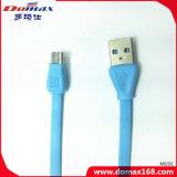 V8のために平らな携帯電話のアクセサリ電光USBケーブル