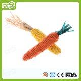 Juguete de Toy&Dog del gato del sisal de Imtate de la zanahoria