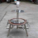 Huisvesting van de Filter van het Bier van de Filter van de Wijn van het roestvrij staal Lenticular