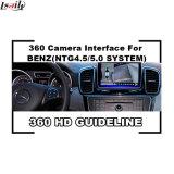 Coche que invierte el interfaz de la cámara 360 para Mercedes-Benz Ntg5.0