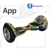 [10ينش] كهربائيّة [هوفربوأرد] اثنان عجلة ميزان ذكيّة [سكوتر] كهربائيّة [هوفربوأرد] مع [أبّ] لوح التزلج كهربائيّة [سكوتر] كهربائيّة