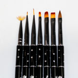 Nagel-Pinsel, Nagel-Kunst, Kolinsky Pinsel, Nagel-Pinsel-Set, Nagel-Kunst-Pinsel