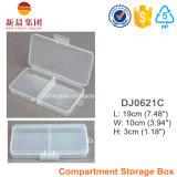 2つのコンパートメントプラスチック収納箱