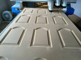 Linha de produção de madeira máquina da máquina da porta do ATC de estaca do router do CNC