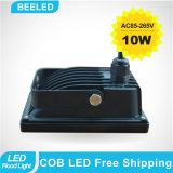 Luz de inundación al aire libre fresca del blanco 10W IP65 LED de la lámpara impermeable