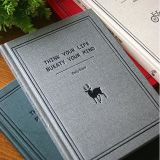 新しいデザインロゴによって印刷されるCustomziedのハードカバーのノート