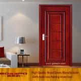 簡単な木製のドアの中国の木のドアの工場(GSP2-068)