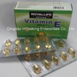 GMP에 의하여 증명되는 자연적인 비타민 E (I) Softgel 의 비타민 E Softgel 캡슐 400 U.