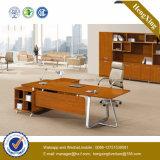 Modernes Metallbein-hölzerner Bescheidenheit-Panel-Büro-Schreibtisch (NS-NW096)