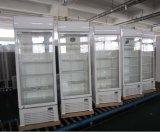 холодильник охладителя витрины 350L с системой вентиляторной системы охлаждения (LG-350F)