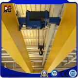 Grúa de arriba de la viga doble eléctrica de la maquinaria de construcción con el alzamiento eléctrico