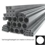 Tubo/tubo cuadrados de Pultruded de la fibra del carbón