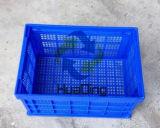 """540X360X300mm (22 """" *15 """" *12 """") gabbie di plastica pieghevoli di distribuzione della verdura e dell'alimento"""