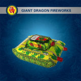 大きいタンク花火のおもちゃの花火