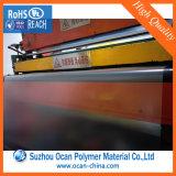 Прозрачный выбитый лист PVC, ясные листы PVC Matt прозрачные