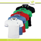 Polo-T-Shirt der kundenspezifischen verschiedenen Art-Männer Baumwoll(P-01)