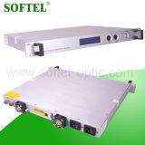 1550nm FTTX Pon 광학적인 18dBm는 LCD 디스플레이, (EDFA) FC/APC 또는 Sc/APC 연결관을%s 가진 섬유 증폭기를 에르븀 진한 액체로 처리했다