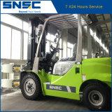 Forklift Diesel 3ton de China Snsc com a braçadeira de papel do rolo