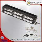 double barre d'éclairage LED de rangée de 38inch 420W