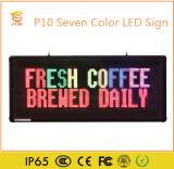 옥외 광고를 위한 풀그릴 LED 메시지 게시판
