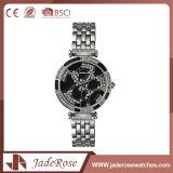 男女兼用の円形の大きいダイヤルのステンレス鋼の防水腕時計