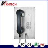 2017新しい同じ高さの台紙の電話Knzd-07bステンレス鋼の電話非常電話