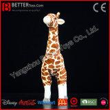 Gosses/jouet mou de peluche cadeau d'enfants de giraffe réaliste de peluche