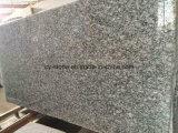 壁のための磨かれた大きい平板のスプレーの白、Seawaveの白い花こう岩またはフロアーリングまたはカウンタートップ
