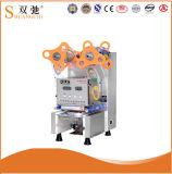 Machine commerciale complètement automatique de cachetage de cuvette de thé de lait de machine de cachetage