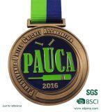 Médaille faite sur commande de sport de gravure en métal