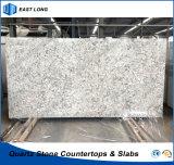 Placas de pedra artificiais de quartzo para bancadas/superfície contínua com relatório do GV & certificado do Ce (cores de mármore)