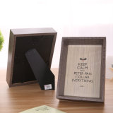 Solid Wood Picture Frame 6 - Inch Natural Handmade Photo Frame