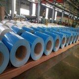 PPGI galvanizou a bobina de aço/chapas de aço revestidas cor na bobina 0.14mm