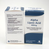 Anti-oxyderende Alpha- Lipoic Zure Capsules 600mg