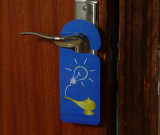 Custom No Disturb Plastic Hotel Door Hang Tag (cartão de PVC)