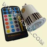 Lumière à télécommande de tache de LED (HP/GU10- ** /5W-4CTRC)