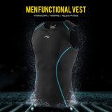 Самые последние люди задействуя Gent изготовления одежд верхних частей спорта износа тельняшку обжатия пригодности одежд мыжского идущую