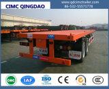 Cimc 3개의 BPW 차축 20FT 40FT 콘테이너 또는 공용품 또는 반 화물 평상형 트레일러 또는 플래트홈 트럭 트레일러