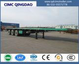 Cimc 3 contenitore degli assi 20FT 40FT di BPW/programma di utilità/base del carico/della piattaforma camion rimorchio semi