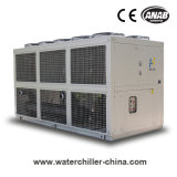 Ar auxiliar plástico eficiente elevado refrigerador de refrigeração do parafuso