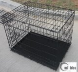 Metal pliable Mesh Folding Pet Cage pour Dog Crate