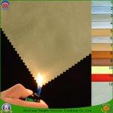 Домашним сплетенное тканьем пламя полиэфира ткани водоустойчивое - retardant Coated ткань занавеса светомаскировки для занавеса окна