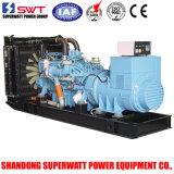 1100kw/1375kVA予備発電Mtuの電気発電機セット